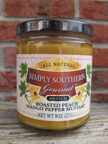 Roasted Peach Mango Pepper Mustard (spicy), 255g