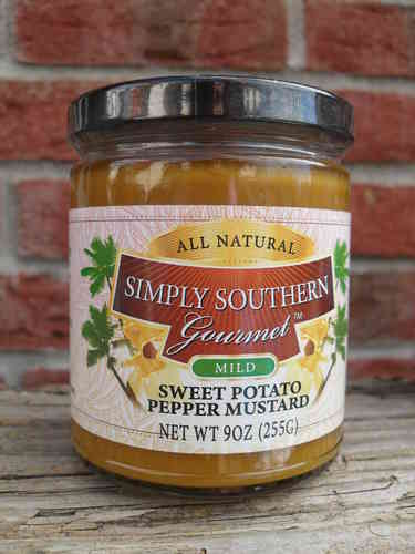 Sweet Potato Pepper Mustard (mild), 255g