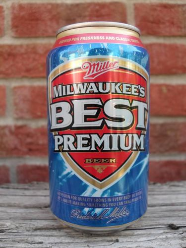 MILWAUKEE'S BEST Premium Beer, 355ml