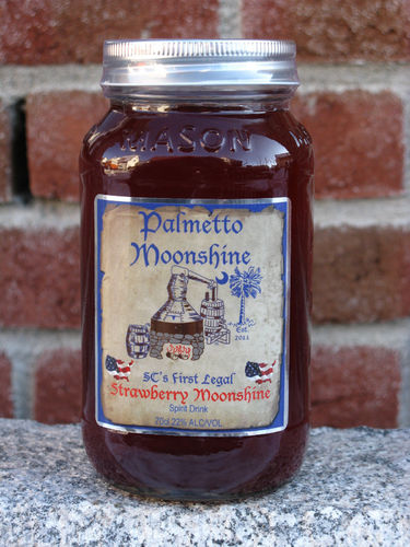 Palmetto Strawberry Moonshine, 0,7l